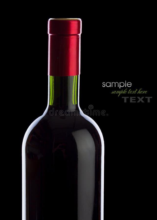 Grape red wine stock image