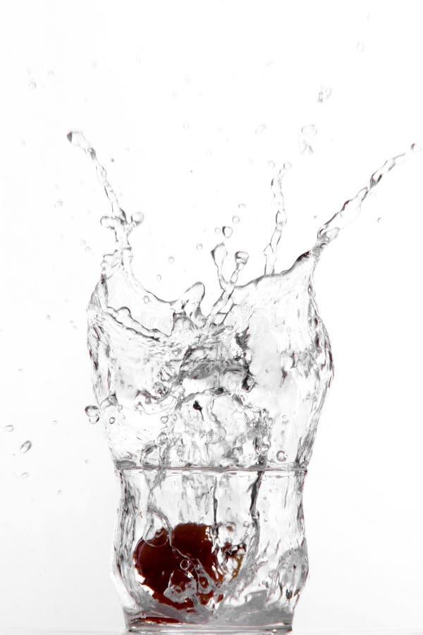 Grape splash stock photo