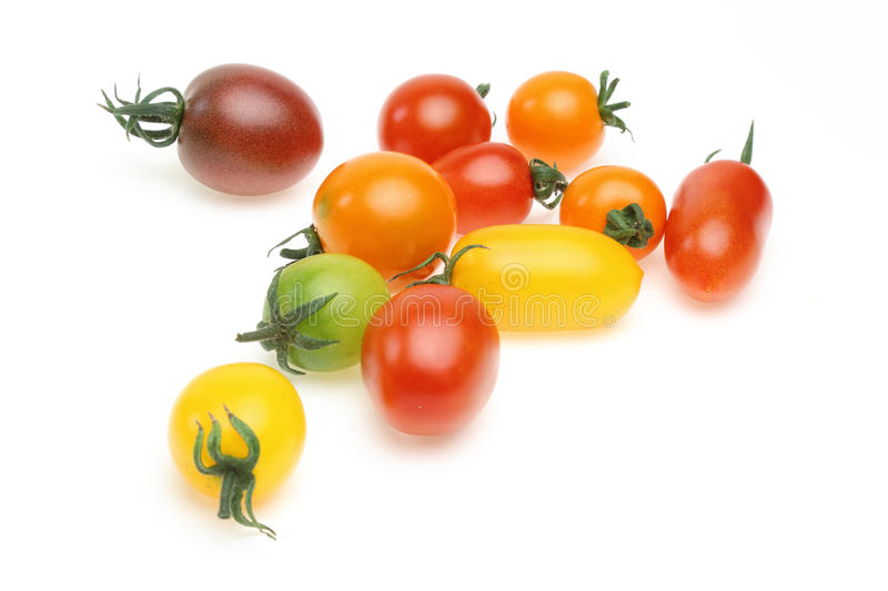 Grape tomato stock photo