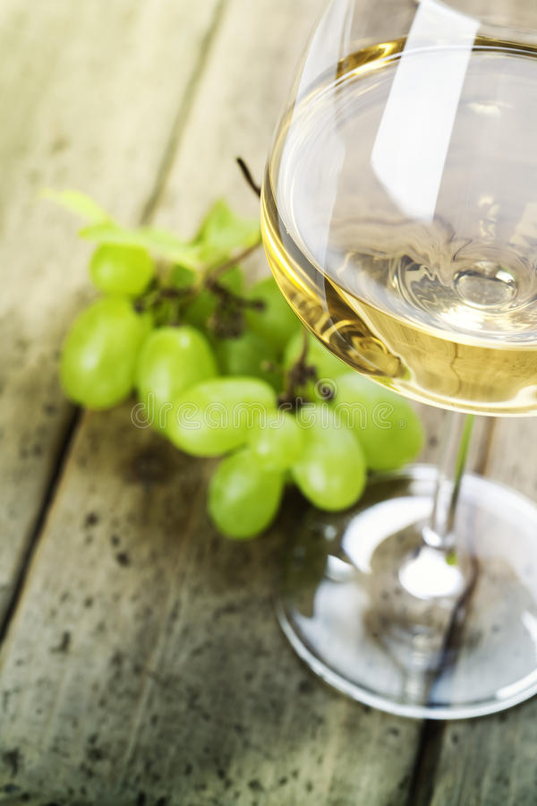Grape and wine royalty free stock image