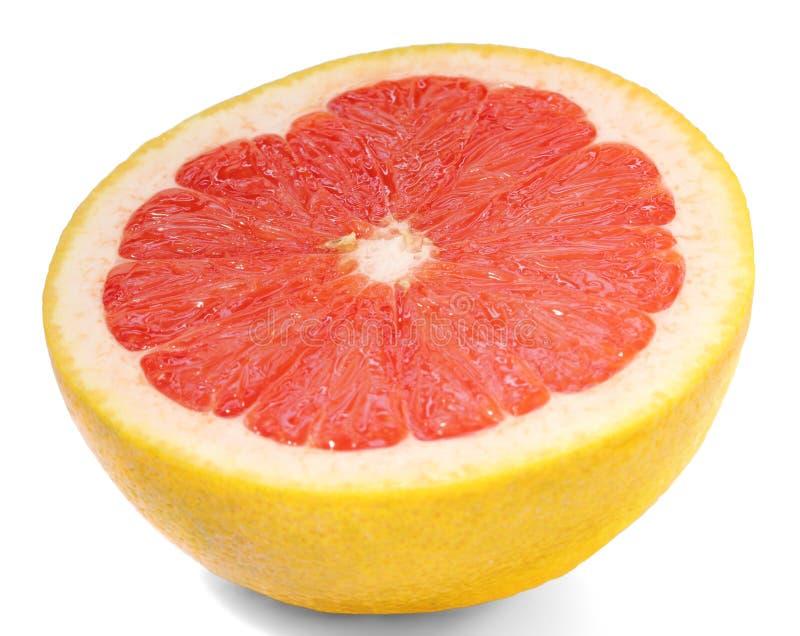 Grapefruit close up stock photography