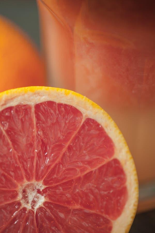 Grapefruit close up. royalty free stock image