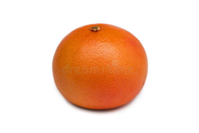 Grapefruit die op witte achtergrond wordt geïsoleerd stock foto