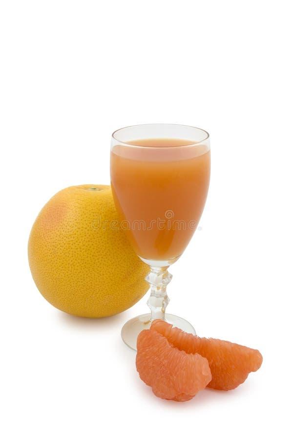 Grapefruit juice stock foto