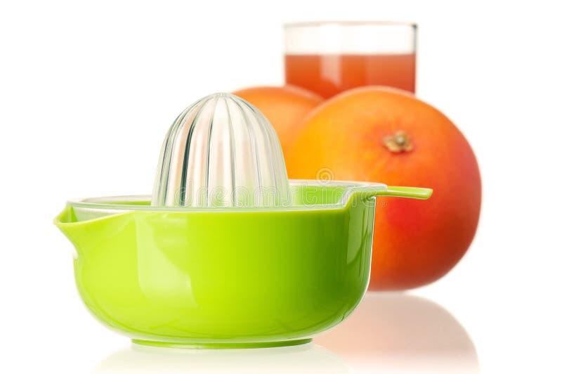 Grapefruit juice royalty free stock photos