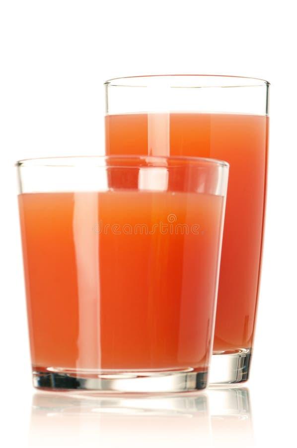 Grapefruit juice stock image