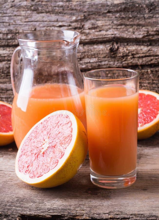 Grapefruit juice stock fotografie