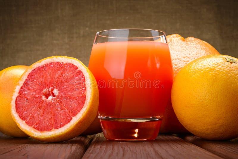 Grapefruit juice stock photography