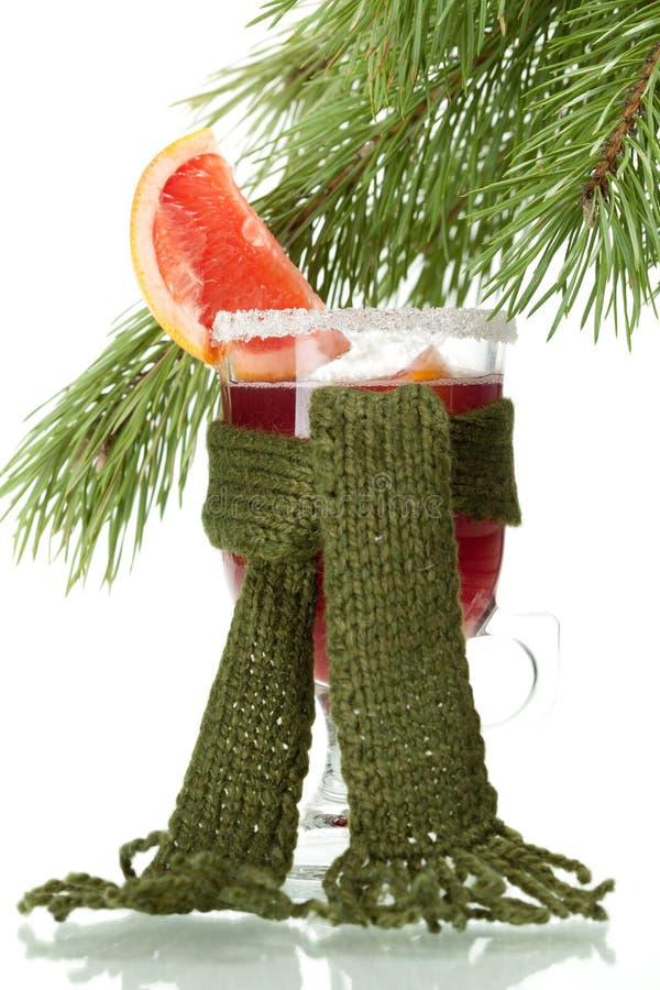 grapefruit rozmyślał poncza szalik wiążącego wino zdjęcia stock