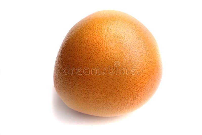 Grapefruit on white background stock photo