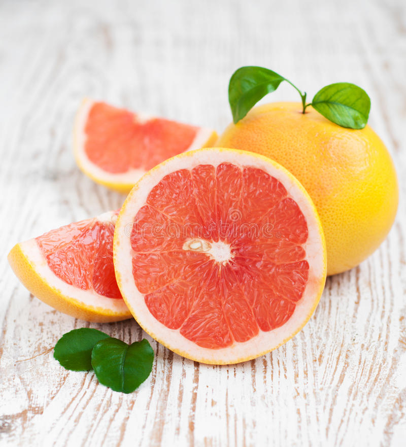Grapefruitowy obrazy royalty free
