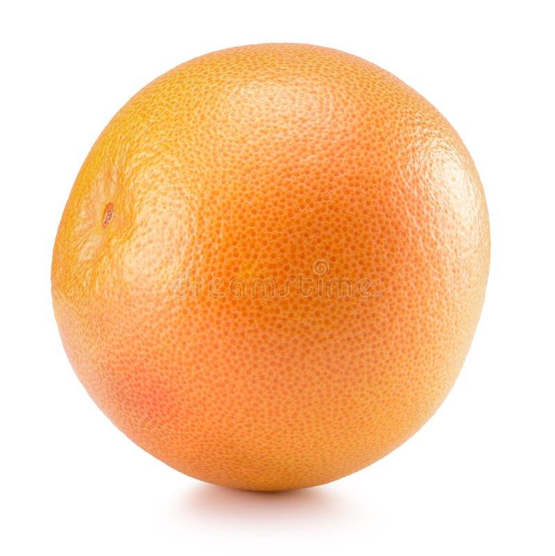 Grapefruitowy odosobniony na białym tle zdjęcie royalty free