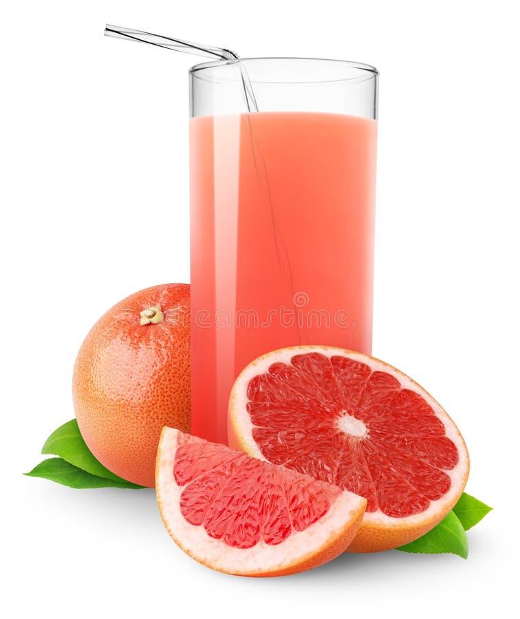 grapefruitowy sok obraz stock