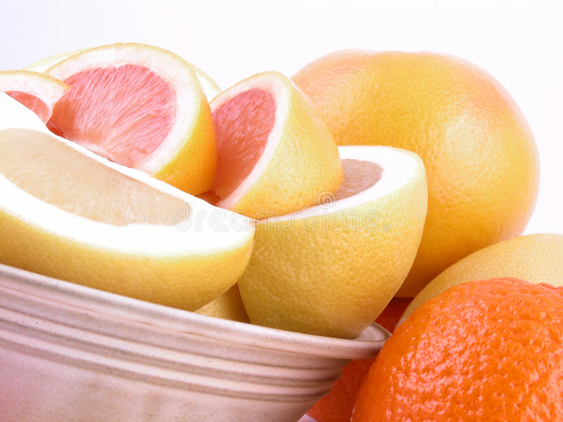 Grapefruits royalty-vrije stock afbeelding