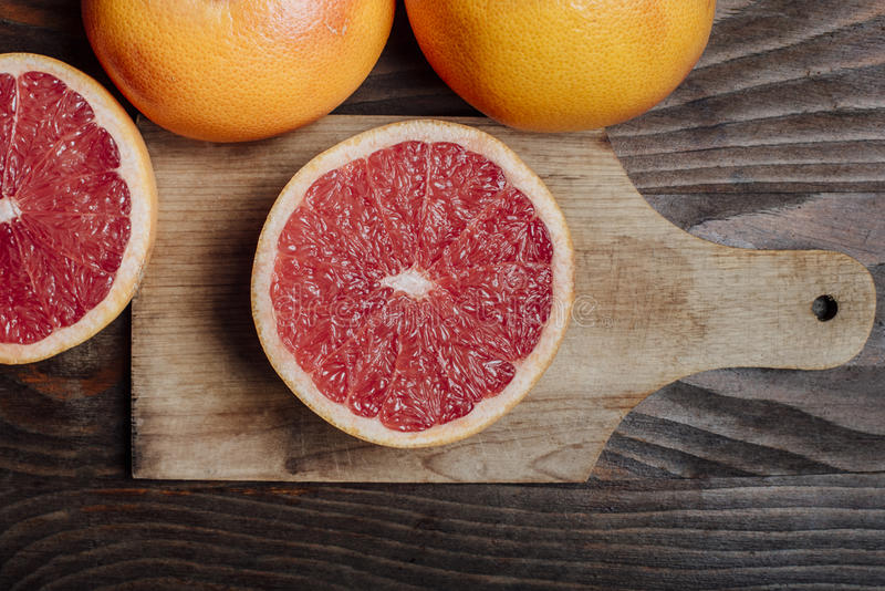 grapefruits imagens de stock