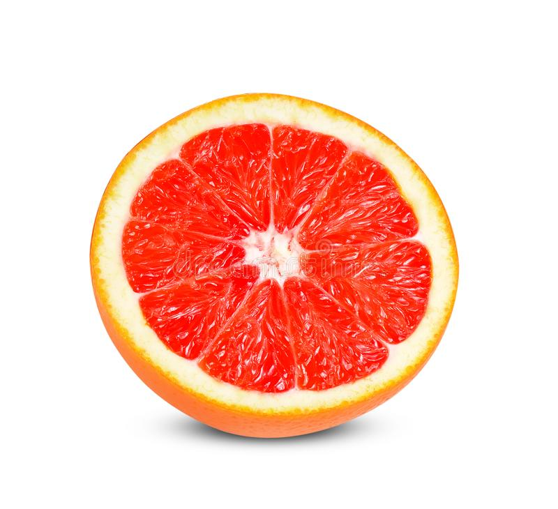 Grapefruits odizolowywaj?cy na bia?ym tle zdjęcia royalty free