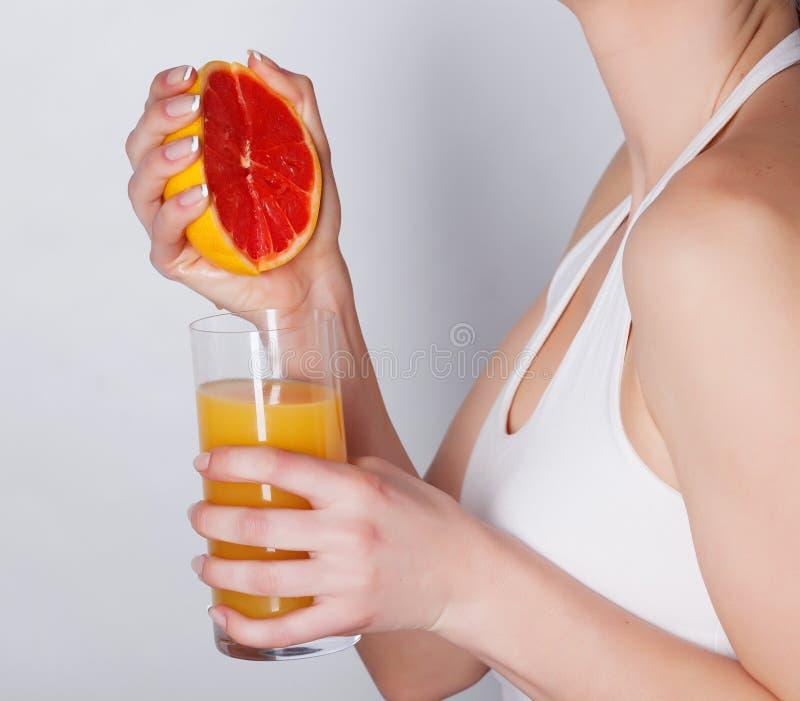 Grapefruitsaft stockfotos