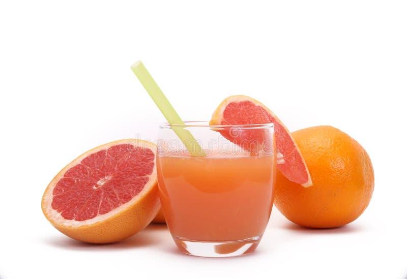Grapefruitsaft lizenzfreie stockbilder