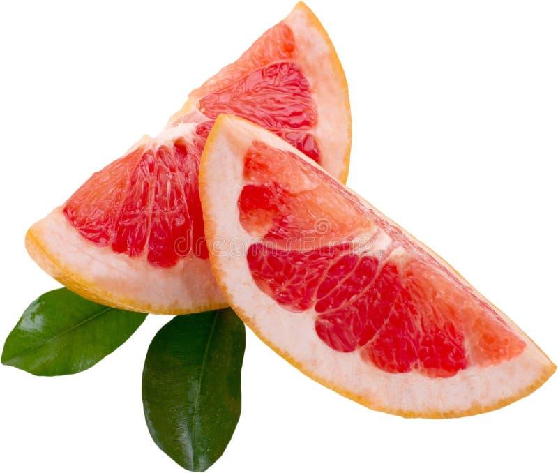 Grapefruitwiggen royalty-vrije stock afbeelding