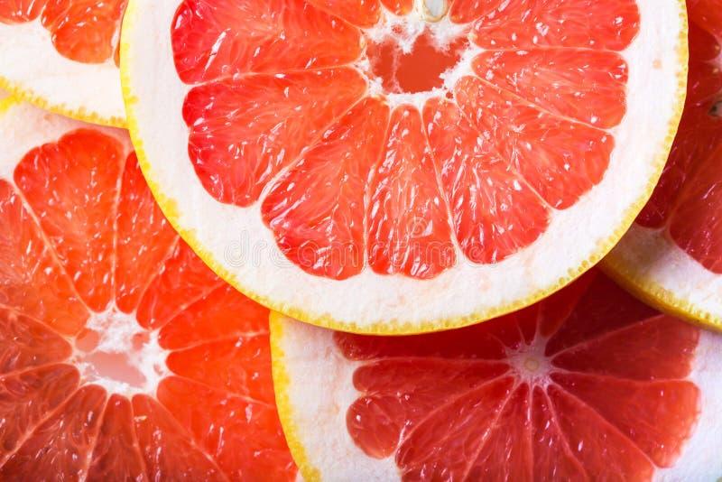 grapefruktbakgrunden arkivbild