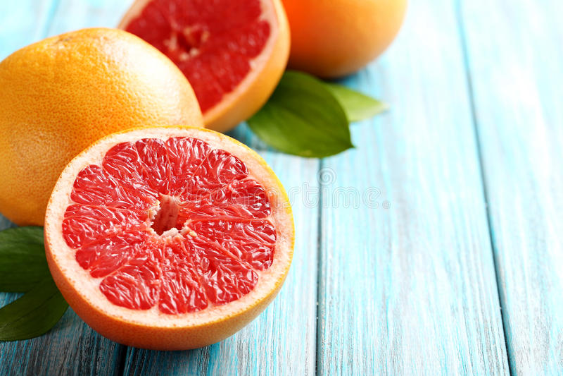 Grapefruktfrukter royaltyfri fotografi