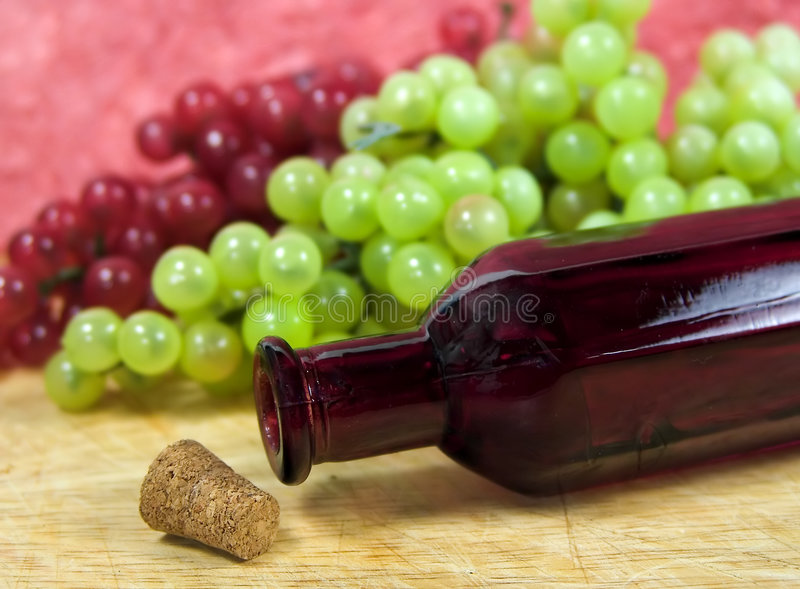 Grapes 2 stock photography