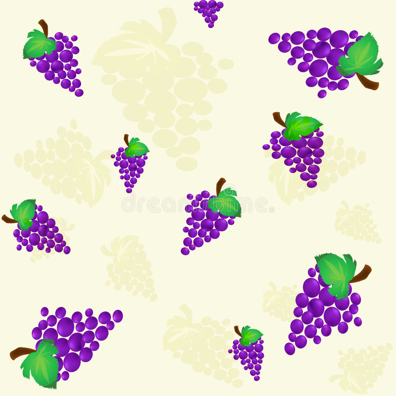 Grapes background