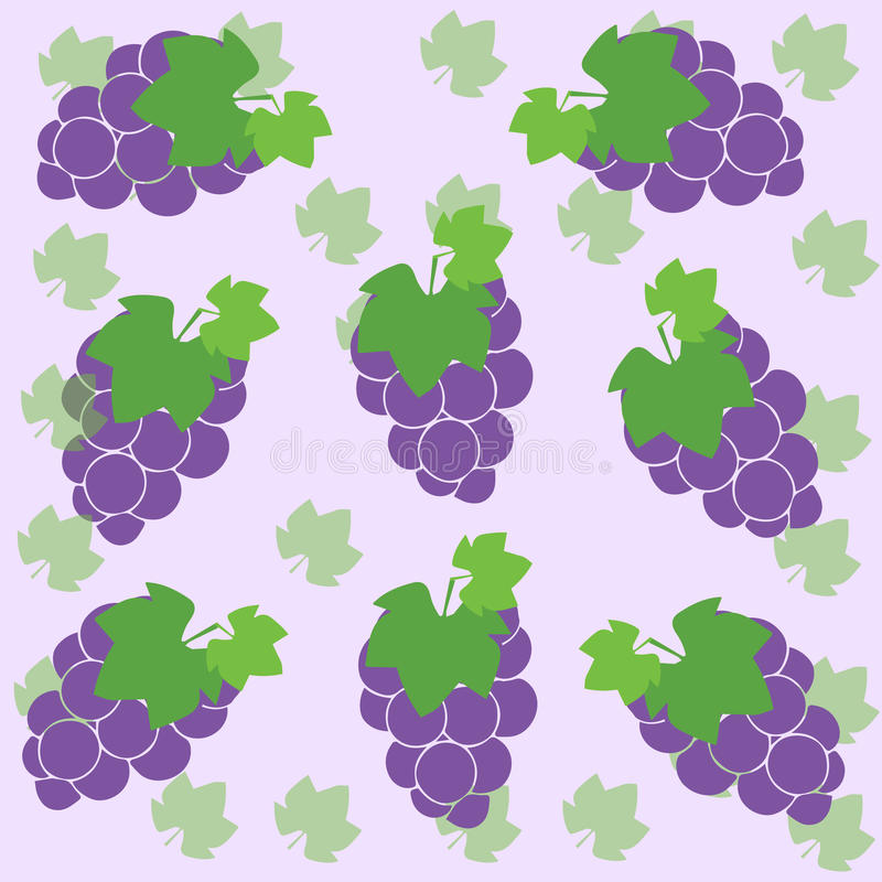 Download Grapes stock illustration. Illustration of decor, isolated - 32056694