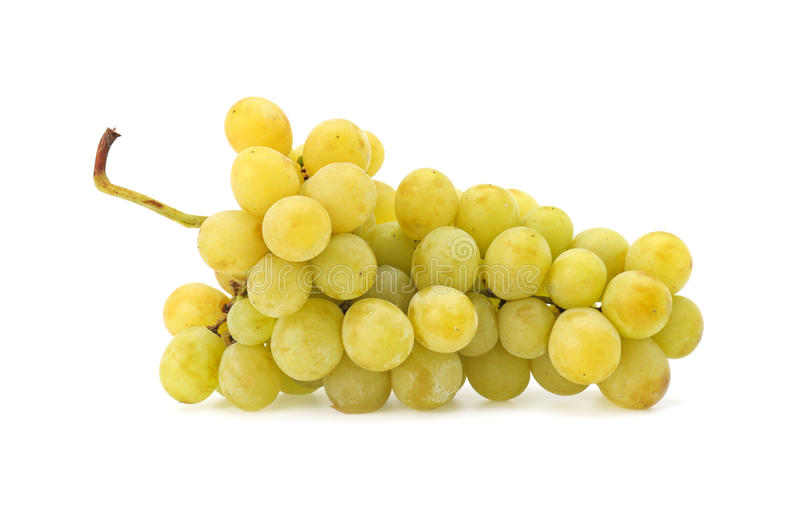 Grapes. Isolated on a white background stock photo