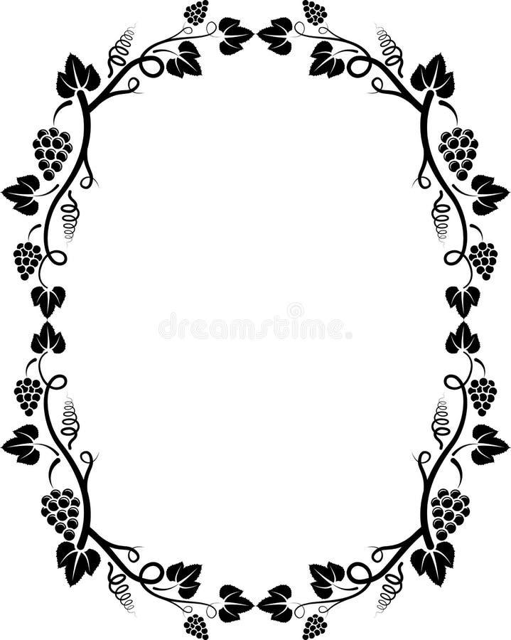 grapevine иллюстрация вектора