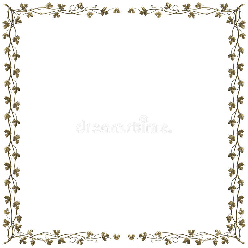 Download Grapevine Frame Royalty Free Stock Photo - Image: 17460005