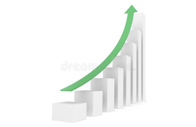 Download Graph stock illustration. Illustration of financial, marketing - 19915151