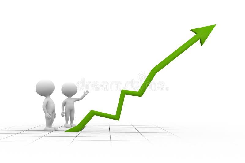 Download Graph stock illustration. Image of illustration, market - 37924534