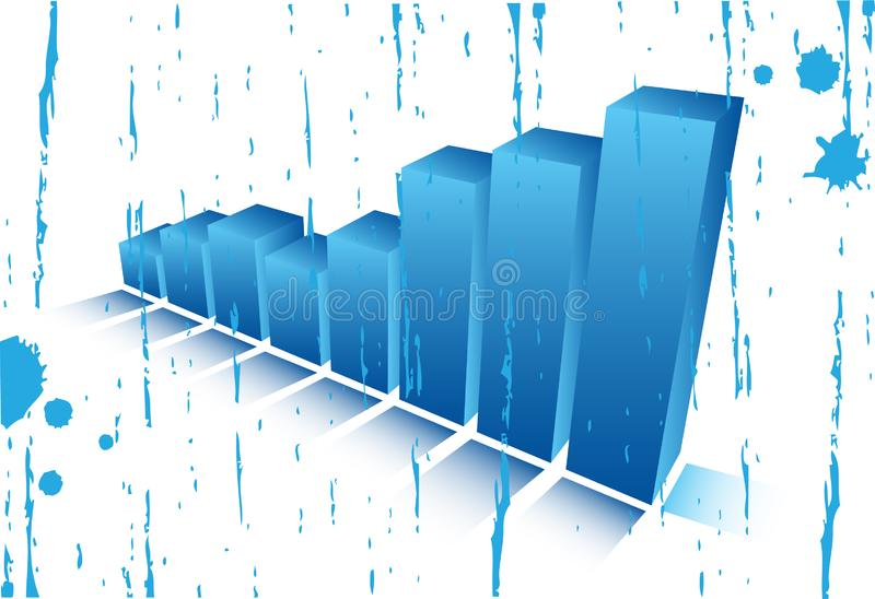 Graph royalty free stock photography