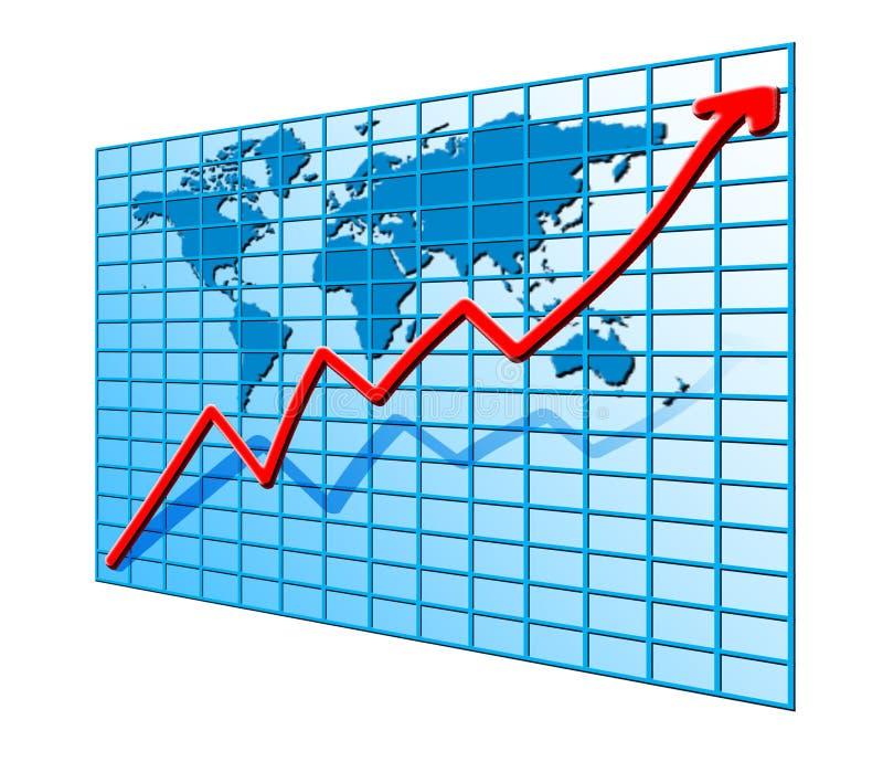 Graph stock illustration