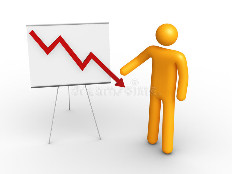Graph Chart Royalty Free Stock Photo