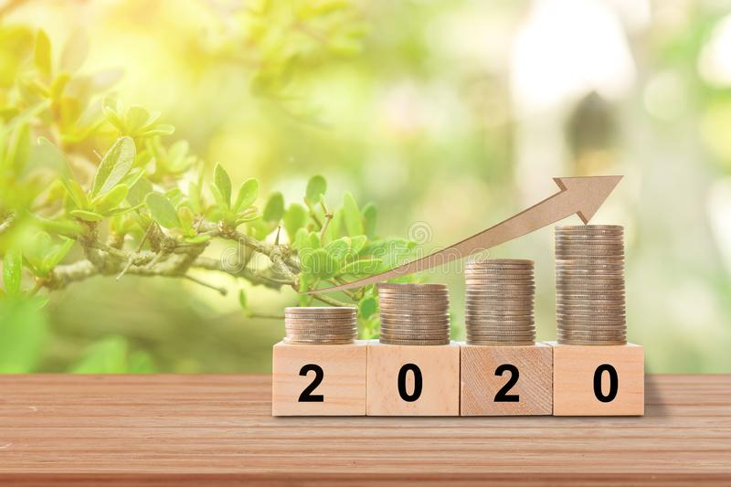 New Year 2020 concept. royalty free stock image