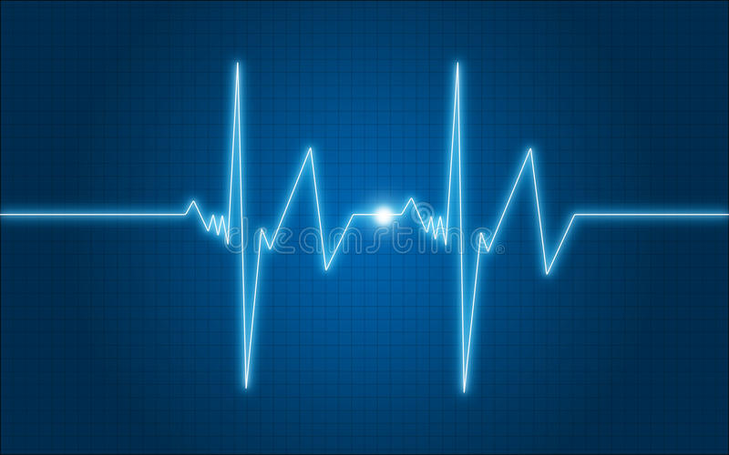 Download Graph ECG Stock Image - Image: 12850421