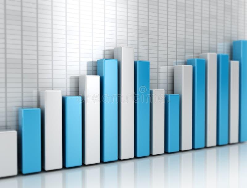 Graph financial stock photos