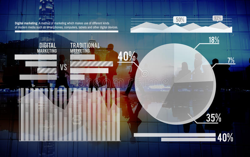 Graph Growth Success Stock Market Finance Analysis Concept royalty free stock images