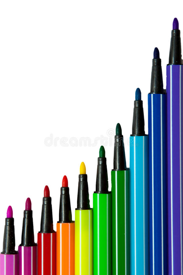 Download Graph Illustrating Growth Of Striped Colo Stock Image - Image: 26639195