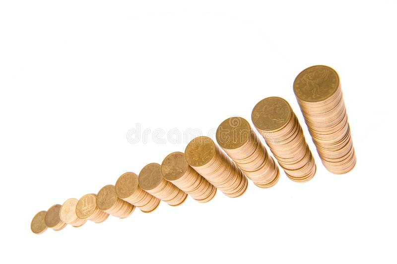 Graph from money stock photos