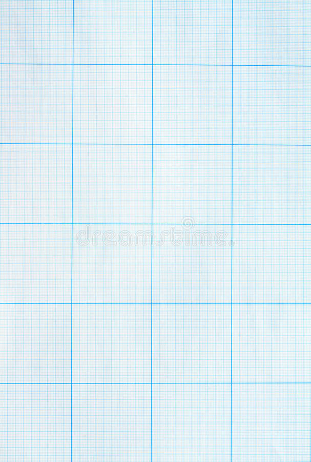 Graph Paper. Background made from blue graph paper sheet stock images
