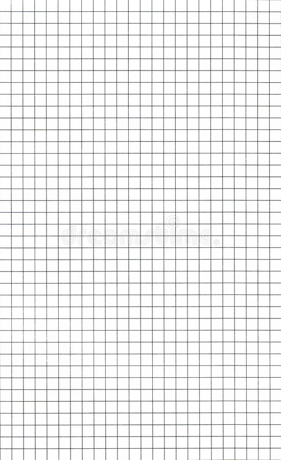 Graph paper. Old graph paper - lines in black royalty free stock image