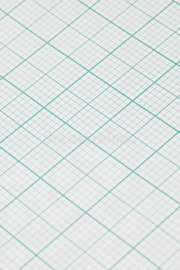 Graph paper. Closeup of graph paper used by economists, designers and architects royalty free stock photos