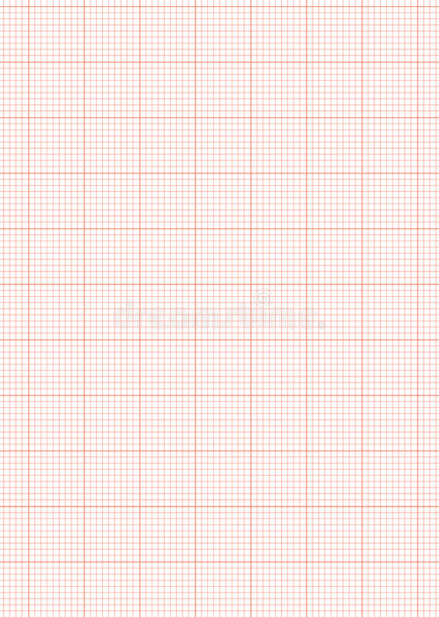 Attractive Download Graph Paper A4 Sheet Red Stock Vector. Image Of Stationary    14519205  Graph Sheet Download
