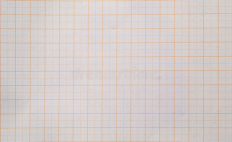 Graph paper background. Seamless background of blank graph paper split into millimetre squares royalty free stock photo