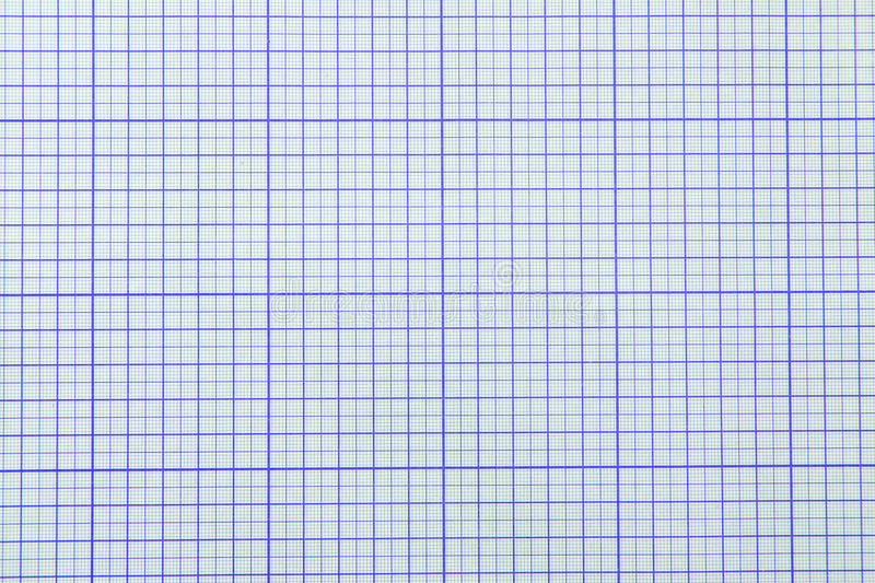 Graph paper. Background blue color stock photography