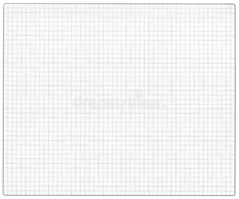 Graph paper background. Graph paper with rounded corners frame stock images