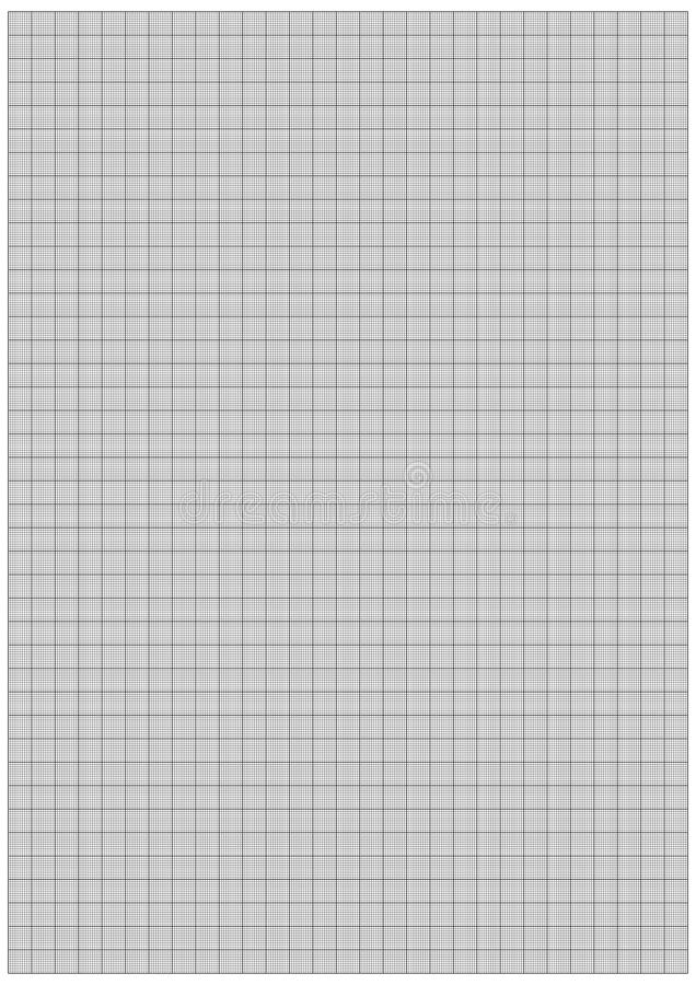 graph paper 1mm stock vector  illustration of blank